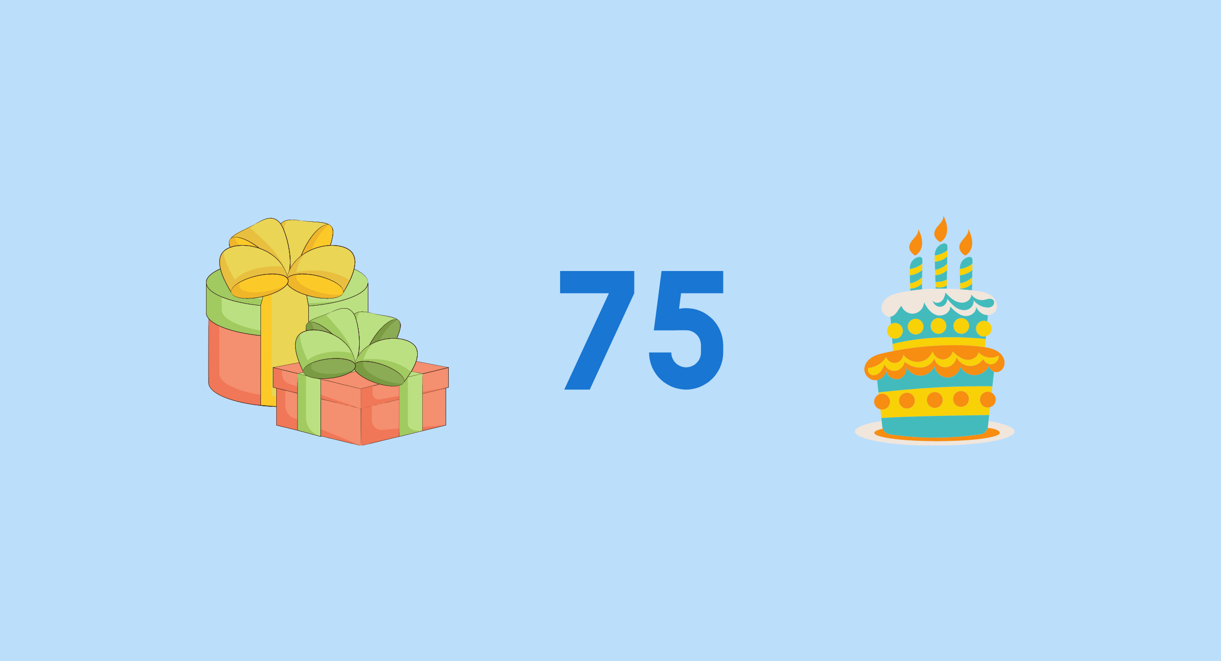 75th birtday gifts